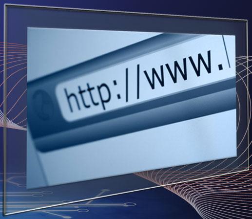 Letras http en una pantalla